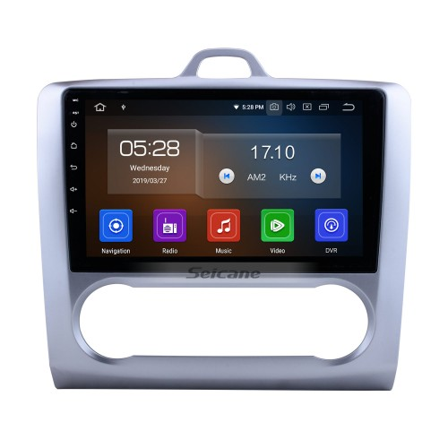 10.1 Inch HD 1024*600 Android 9.0 2004-2011 Ford Focus 2 Bluetooth Radio GPS Navigation Car Stereo Touchscreen Mirror Link USB RDS DAB+ Steering Wheel Control