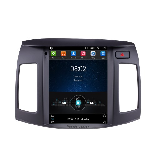 9.7 inch HD Touchscreen 2008 2009 2010 Hyundai Elantra Android 9.1 Radio GPS Navigation with Mirror Link CPU Quad Core Bluetooth Music 4G WIFI Steering Wheel Control