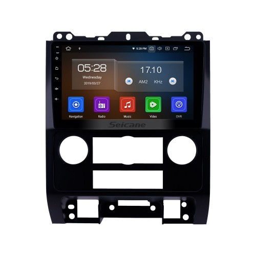 Android 10.0 9 inch 2007-2012 Ford Escape HD Touchscreen GPS Navigation Radio with Bluetooth USB Music Carplay WIFI support Mirror Link OBD2 DVR