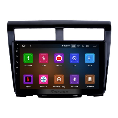 10.1 inch Android 9.0 Radio for 2012 Proton Myvi Bluetooth Wifi HD Touchscreen GPS Navigation Carplay USB support DVR OBD2 Rearview camera