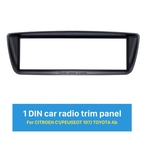 Best 1Din Citroen C1 Peugeot 107 Toyota Ab Car Radio Fascia Refitting DVD frame Surround Panel Dash Kit