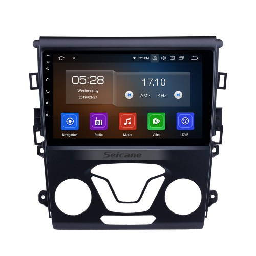 Android 9.0 9 inch 2012 2013 2014 FORD MONDEO HD Touchscreen Radio GPS Navigation System 4G WiFi Bluetooth Mirror Link Backup Camera Steering Wheel Control TV 1080P