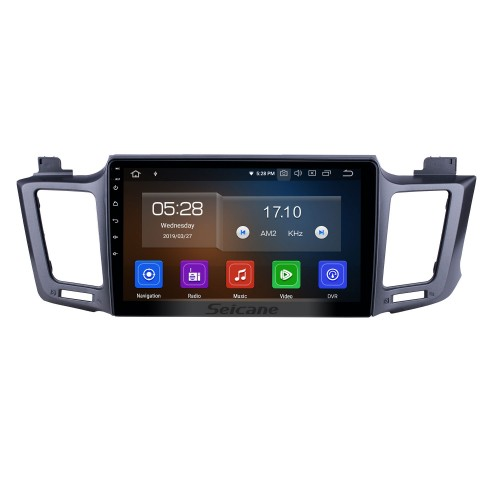 10.1 inch Android 10.0 GPS Navigation Radio for 2013-2016 Toyota RAV4 LHD with HD Touchscreen Carplay Bluetooth WIFI USB AUX support Mirror Link OBD2