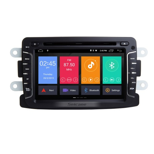 OEM In-Dash Radio Replacement MP5 Player for Renault Duster Built-in GPS POP DVD Bluetooth Support Anti-Shock 2 Channel AUX 3G WiFi-5