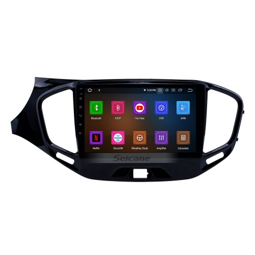 Android 9.0 9 inch GPS Navigation Radio for 2015-2019 Lada Vesta Cross Sport with HD Touchscreen Carplay Bluetooth support Digital TV