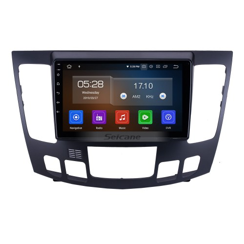 HD Touchscreen for 2009 Hyundai Sonata Auto A/C Radio Android 10.0 9 inch GPS Navigation System Bluetooth Carplay support TPMS