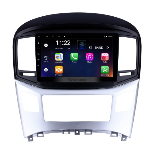 10.1 inch Android 8.1 2016 2017 Hyundai Starex H-1 Wagon GPS Navigation Radio with Touchscreen Bluetooth USB Wifi AUX support TPMS DVR