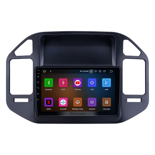 OEM 9 inch Android 9.0 for 2004 2005 2006-2011 Mitsubishi Pajero V73 Radio Bluetooth HD Touchscreen GPS Navigation System Carplay support Digital TV