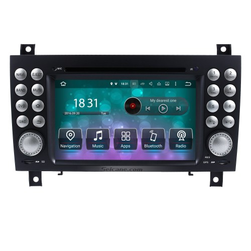 OEM Android 8.0 DVD Player GPS Navigation system for 2004-2012 Mercedes-Benz SLK W171 R171 with HD 1080P Video Bluetooth Touch Screen Radio WiFi TV Backup Camera steering wheel control USB SD
