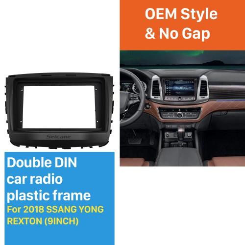 Top Quality 2DIN GM Chevrolet ONIX Cobalt Left Hand Drive Car Radio Fascia Dash Panel Frame Audio Refit