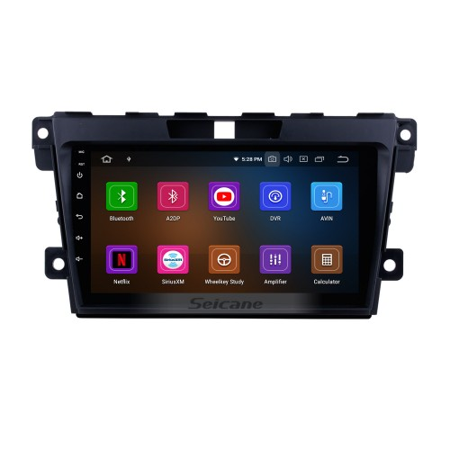 9 inch Android 9.0 GPS Navigation Radio System for 2007 2008 2009 2010 2011 2012 2013 2014 Mazda CX-7 with Multi-touch Screen Mirror Link OBD DVR Bluetooth Rearview Camera TV USB 3G WIFI
