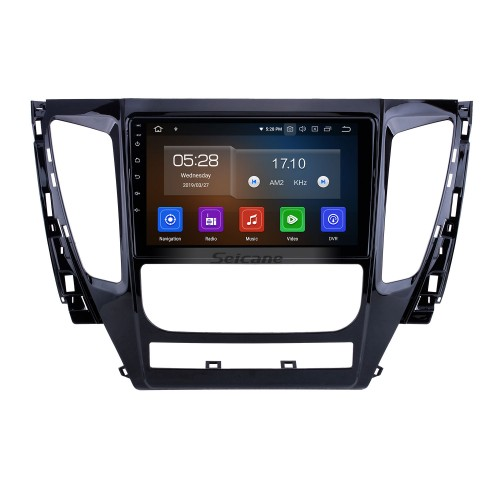 HD Touchscreen for 2015 2016 2017 Mitsubishi Pajero Sport Radio Android 10.0 9 inch GPS Navigation System Bluetooth Carplay support DAB+