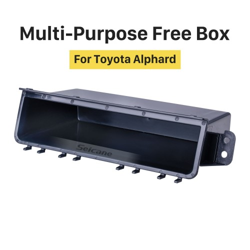 High Quality Multi-Purpose Storage Container Free Box for Toyota Alphard
