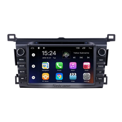 8 inch Android 9.0 for 2006 2007 2008-2013 Toyota RAV4 Radio With HD Touchscreen GPS Navigation System Bluetooth support Carplay