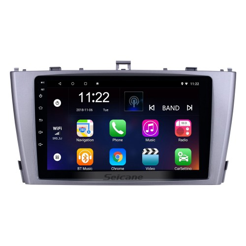 Android 8.1 GPS Navigation 9 inch Radio for 2009-2013 Toyota AVENSIS with 1024*600 Touchscreen Bluetooth Phone Wifi Mirror Link Steering Wheel Control support DVR