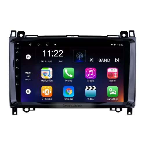 9 inch Android 8.1 GPS Navigation Radio for VW Volkswagen Crafter Mercedes Benz Viano / Vito /B Class W245 /Sprinter /A Class W169 with Bluetooth WiFi Touchscreen support Carplay DVR