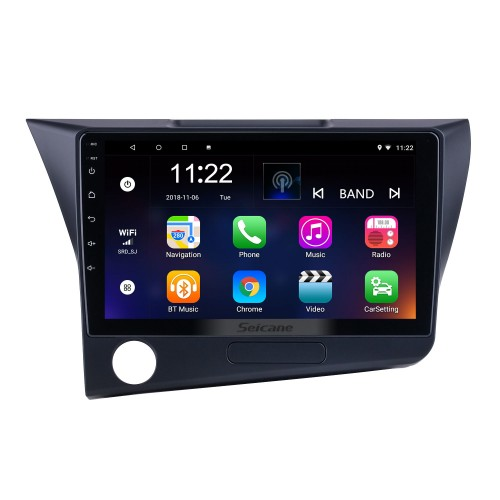 HD Touchscreen 9 inch Android 10.0 for 2010 Honda CRZ LHD Radio GPS Navigation System with Bluetooth support Carplay Rearview camera