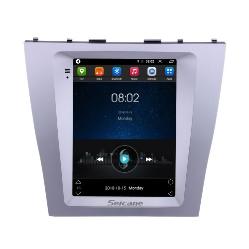OEM 9.7 inch Android 9.1 2008-2012 Toyota Camry GPS Navigation Radio with HD Touchscreen Bluetooth WIFI support TPMS Carplay DAB+