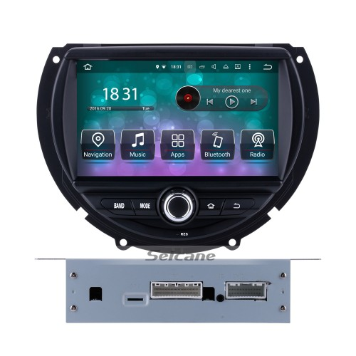 OEM Android 8.0 DVD Player GPS Navigation system for 2015 2016 BMW  MINI COOPER with HD 1080P Video Bluetooth Touch Screen Radio WiFi TV Backup Camera steering wheel control USB SD