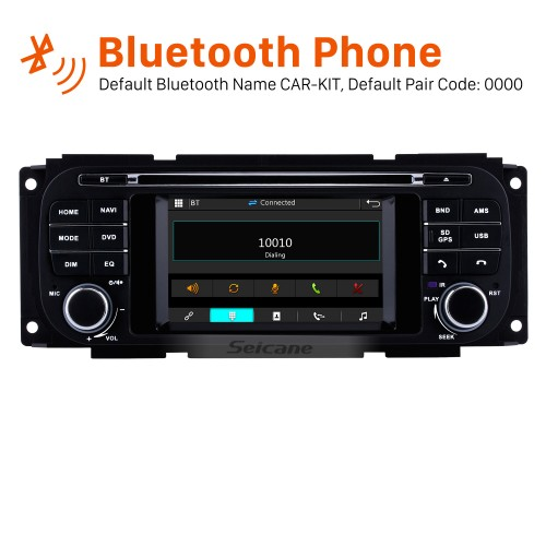 OEM DVD Player Radio Touch Screen For 2002-2007 Dodge Caravan Support 3G WiFi TV Bluetooth GPS Navigation System TPMS DVR OBD Mirror Link Video Backup Camera