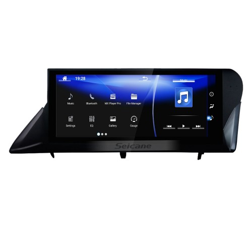 Android 7.1 10.25 inch for 2009 2010 2011-2014 LEXUS RX RHD Top Version Radio HD Touchscreen GPS Navigation System With Bluetooth support Carplay