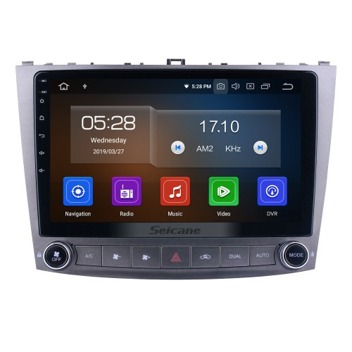 10.1 inch For Lexus IS250 Radio Android 10.0 GPS Navigation System with HD Touchscreen Bluetooth Carplay support Backup camera