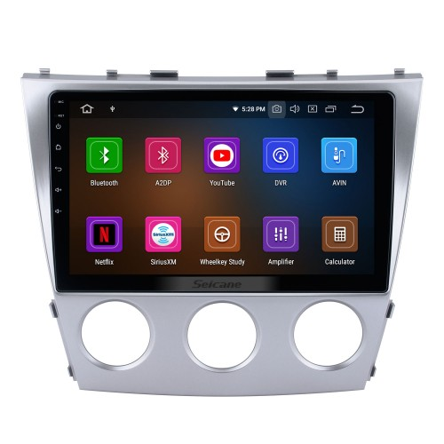Android 11.0 HD Touchscreen 10.1 inch For Toyota Classic Camry Radio GPS Navigation System with Bluetooth support Carplay Rear manual air Conditioner
