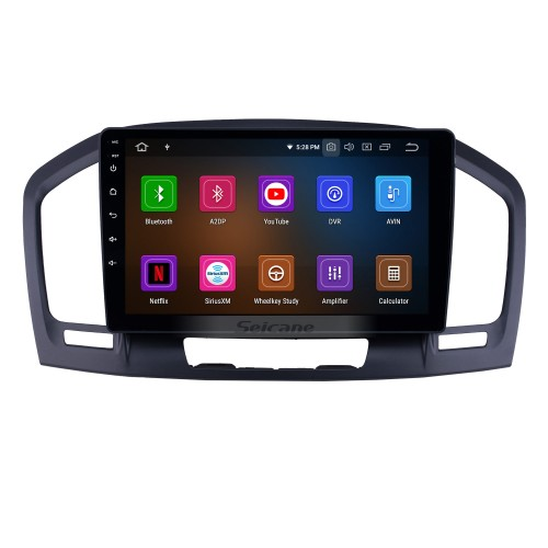 OEM 9 inch Android 9.0 Radio for 2009-2013 Buick Regal Bluetooth Wifi HD Touchscreen Music GPS Navigation Carplay support DAB+ Rearview camera