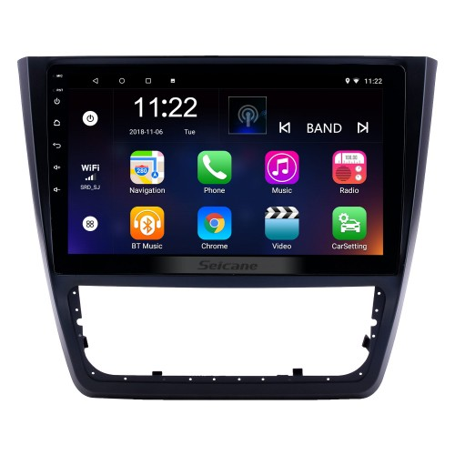 10.1 inch Android 8.1 HD Touchscreen GPS Navigation Radio for 2014-2018 Skoda Yeti with Bluetooth AUX support Carplay Mirror Link