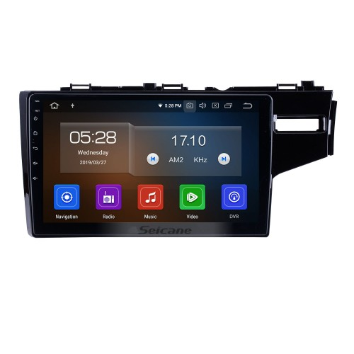 9 Inch Android 9.0 GPS Navigation System Radio For 2014-2016 Honda Fit Support DVD Player Remote Control Bluetooth Touch Screen TV tuner