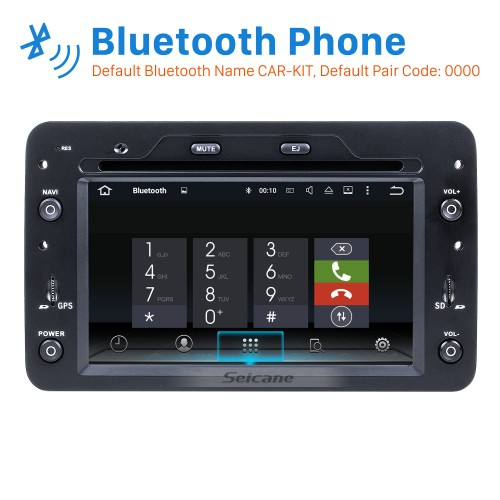Android 8.0 HD Touchscreen Car Radio DVD Player For 2006-2013 Alfa Romeo Brera GPS Navigation System Bluetooth Phone WIFI Support OBD2 USB Mirror Link Backup Camera Steering Wheel Control