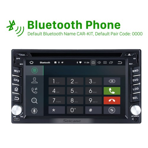Android 8.0 Bluetooth Touch Screen Navigation System for 2005-2010 Nissan TREEANO with GPS DVD Player Mirror link Radio OBD2 DVR TV 4G WIFI Rearview Camera CANBUS USB SD 1080P Video