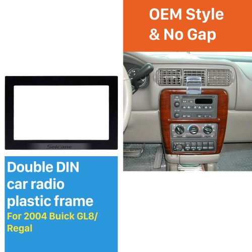 Double Din 2004 Buick GL8 Regal Car Radio Fascia Dash CD Installation Kit Fitting Frame Surround Panel