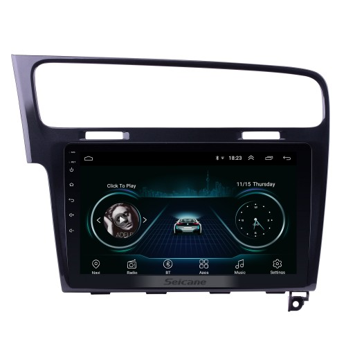 10.1 inch Android 8.1 for 2013 2014 2015 VW Volkswagen Golf 7 GPS Navigation System Radio with HD Touch Screen WIFI Bluetooth support Digital TV Carplay