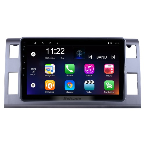 OEM 10.1 inch Android 10.0 for 2006 Toyota Previa/Estima/Tarago Radio with Bluetooth HD Touchscreen GPS Navigation System support Carplay