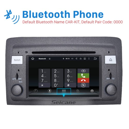 Android 8.0 HD Touchscreen In Dash DVD Player For 2004-2008 Lancia Musa Car Radio Head Unit GPS Navigation Bluetooth Music WIFI Support Mirror Link Steering Wheel Control Rearview Camera OBD2 AUX