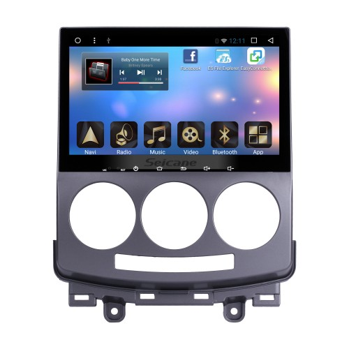 Android 6.0 OEM 2005-2008 2009 2010 Old Mazda 5 Head Unit Bluetooth GPS Navigation Radio RDS TV Tuner AUX Backup Camera Steering Wheel Control 3G Wifi Mirror Link USB