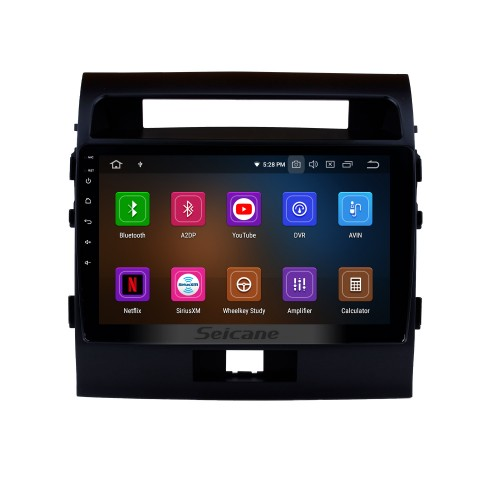 OEM 10.1 inch HD TouchScreen GPS Navigation System Android 9.0 for 2007-2017 TOYOTA LAND CRUISER Radio Support Car Stereo Bluetooth Music Mirror Link OBD2 3G/4G WiFi Video Backup Camera
