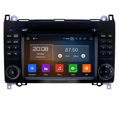 9 inch Android 9.0 GPS Navigation Radio for VW Volkswagen Crafter Mercedes Benz Viano / Vito /B Class B55 /Sprinter /A Class A160 with Bluetooth WiFi Touchscreen support Carplay DVR