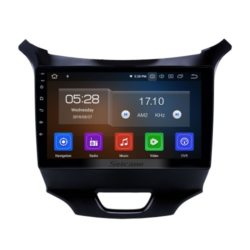 9 inch Android 9.0 GPS Navigation Radio for 2015-2018 chevy Chevrolet Cruze with HD Touchscreen Carplay AUX Bluetooth support 1080P