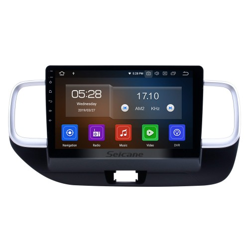 10.1 inch 2019 Hyundai Venue RHD Android 9.0 GPS Navigation Radio Bluetooth HD Touchscreen Carplay support Mirror Link