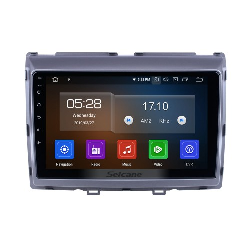 For 2011 Mazda 8 Radio 9 inch HD Touchscreen Android 10.0 with AUX Bluetooth GPS Navigation System Carplay support 1080P Video