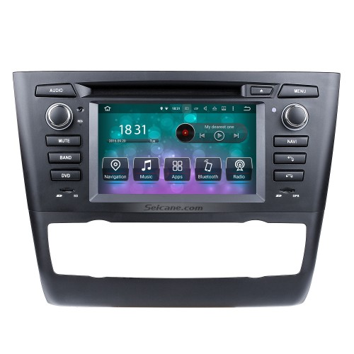 Android 8.0 GPS Radio DVD for 2004-2012 BMW 1 Series E81 E82 E88 (automatic air-conditioner +heated seat) 116i 116d 118i 118d 120i 120d 123d 125i 128i 130i 135i with 3G WiFi Mirror Link OBD2 Rearview Camera DVR