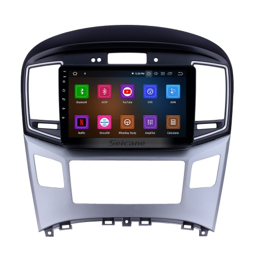 2015 Hyundai Starex H1 Android 9.0 9 inch GPS Navigation Radio Bluetooth HD Touchscreen WIFI USB AUX Carplay support TPMS SWC