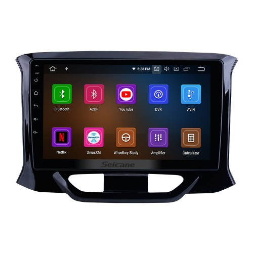 OEM Android 10.0 for 2015 2016-2019 Lada Xray Radio 9 inch HD Touchscreen with Bluetooth GPS Navigation System Carplay support DSP