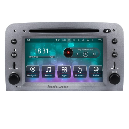 Android 8.0 HD Touchscreen Car Radio DVD Player For 2005-2013 Alfa Romeo 147 GPS Navigation System Bluetooth Music WIFI Support OBD2 USB DAB+ Mirror Link Backup Camera Steering Wheel Control