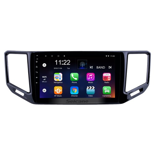 10.1 inch Android 8.1 HD Touchscreen GPS Navigation Radio for 2017-2018 VW Volkswagen Teramont with Bluetooth WIFI support Carplay OBD