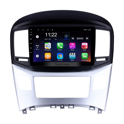 10.1 inch Android 10.0 2016 2017 2018 Hyundai Starex H-1 Wagon GPS Navigation Radio with Touchscreen Bluetooth USB Wifi AUX support TPMS DVR