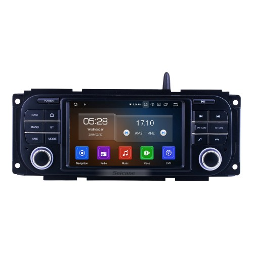 OEM Android 10.0 for 2004-2008 Chrysler 300C Radio with Bluetooth HD Touchscreen GPS Navigation System Carplay support DVR