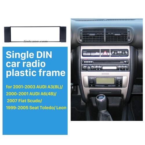 Nice 1Din 2001-2003 AUDI A3 8L 2000 2001 AUDI A6 4B 2007 Fiat Scudo 1999-2005 Seat Toledo Leon Car Radio Fascia Frame Panel